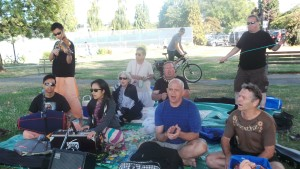 Harinam, Sankirtan & Picnic at Kitsilano Beach