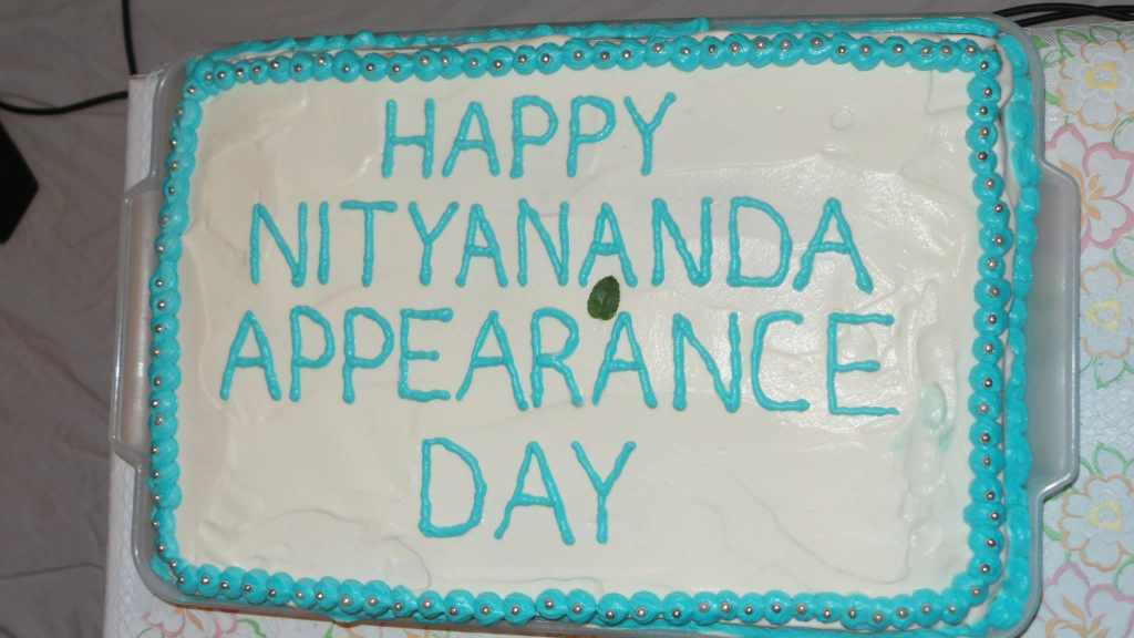Lord Nityananda Appearance Day 2015 - Cake